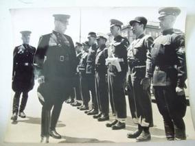 Foto Antiga Alemanha Pós Guerra Militares Inglêses, Russos,