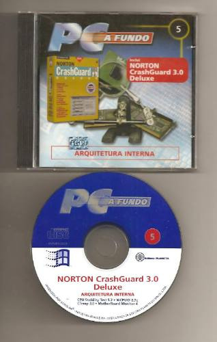 Cd-rom Norton Crash Guard 3.0 Deluxe ( Utilitários)