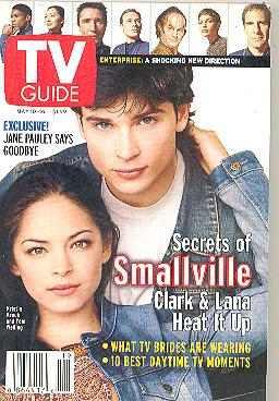 Revista Guide: Tom Welling / Smallville / Kristin Kreuk !! !