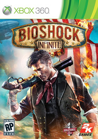 Jogo Novo Lacrado Bioshock Infinite Midia Fisica Xbox 360