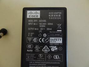 Fonte Cisco 48v P/n:341-0306-01 Telefone Ip/power Injector