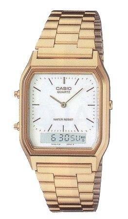 Sem Juros Relógio Casio Aq-230 Gold
