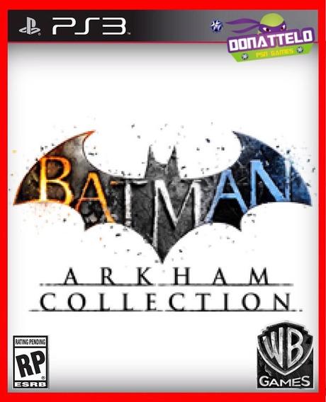 Batman Arkham Collection (asylum, City E Origins) Ps3 Psn