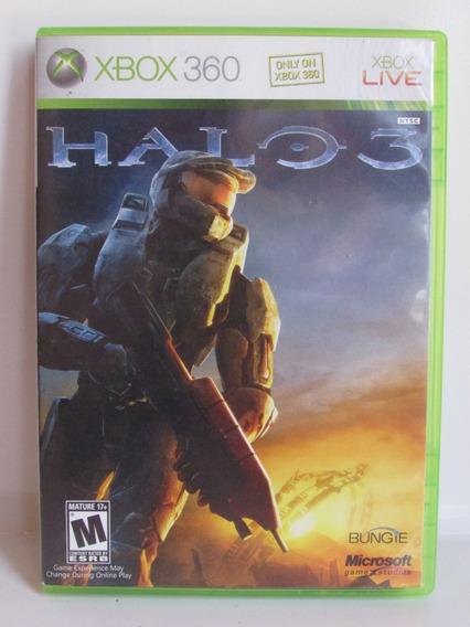 Halo 3 - Game Xbox 360 Original E Completo Americano Ntsc
