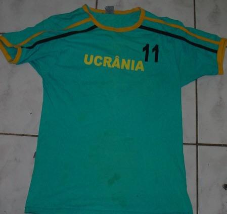 Camiseta Ucrânia - Tamanho M
