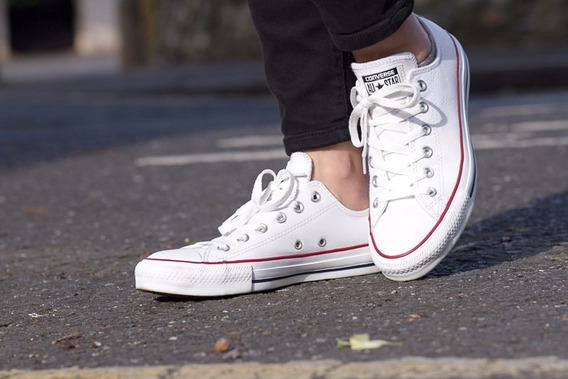 Libre Blancas Converse Hombre Zapatillas Mercado qxwHXITx8U