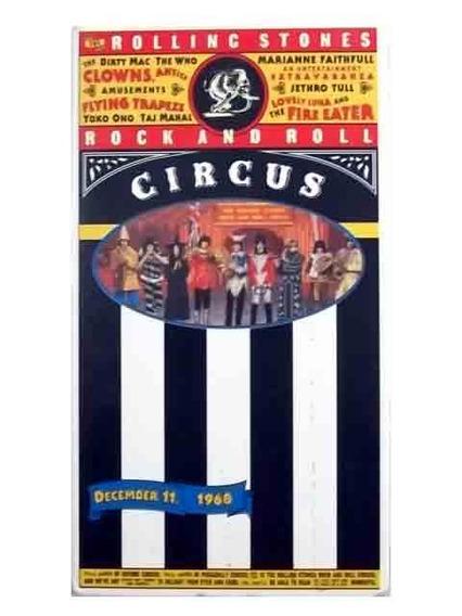 The Rolling Stones Rnr Circus Vhs Original. 1995