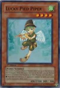 Lucky Pied Piper - Taev-en021 - Super Rare - Yu-gi-oh