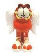 Garfield Anjo - Miniatura Importada Plastoy - Nova!