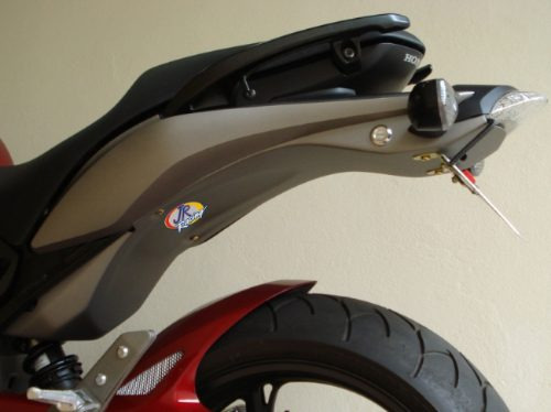 Eliminador Nova Hornet 600 Preto Fosco Nfe Manual Jr Racing