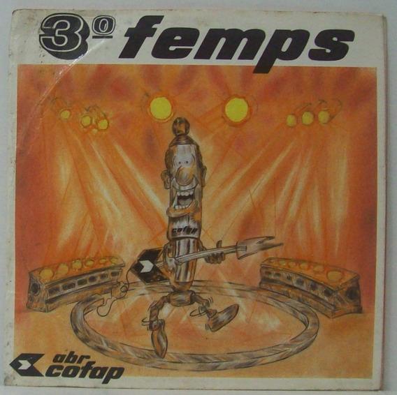 Compacto Vinil 3º Femps - Festival De Música Sertaneja
