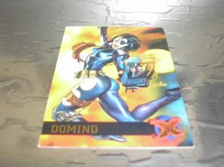 ( L - 350 ) Marvel Comics Card N. 17 Domino