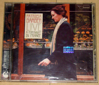 Patricia Barber Live A Fortnight In France Cd Argentino