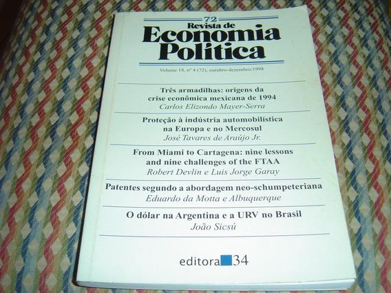 Revista De Economia Política Nº 72