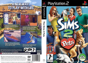 The Sims 2 Pets - Playstation 2 - Paty Games