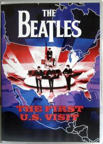 Dvd The Beatles - The First Us Visit - 1964 - Encarte - Raro