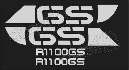 Emblema Adesivo Bmw R1100gs Preta Par Bwr1100gs3