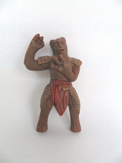 Brinquedo De Plástico Boneco Antigo Tipo Monstro Medieval