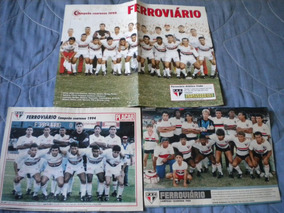 Ferroviário Lote Com 3 Posters Revista Placar Fortaleza Cear