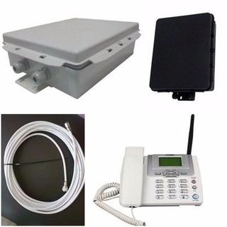Kit Completo Telefone Rural+ Internet Rural .