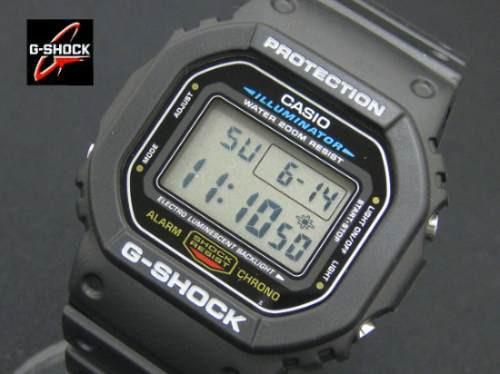 Relogio Casio G-shock Dw-5600 100% Novo E Original