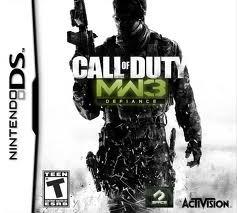 Jogo Call Of Duty Modern Warfare 3 Defiance Para Nintendo Ds