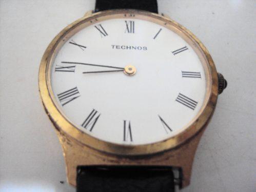 Relógio Technos À Corda - Anos 70