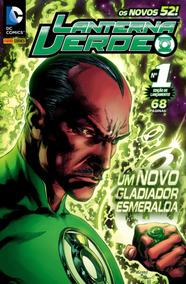 Lanterna Verde Nº 1 - Os Novos 52! - Panini (nova)