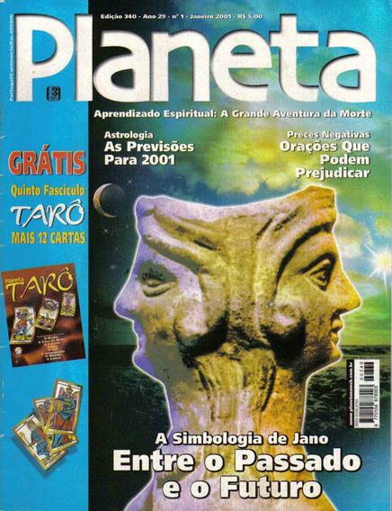 Revista Planeta Nº340 - Janeiro/01 (esoterismo/ocultismo)