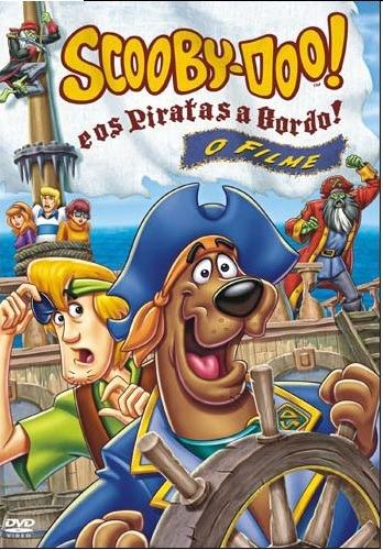 Dvd Scooby Doo Piratas A Bordo O Filme