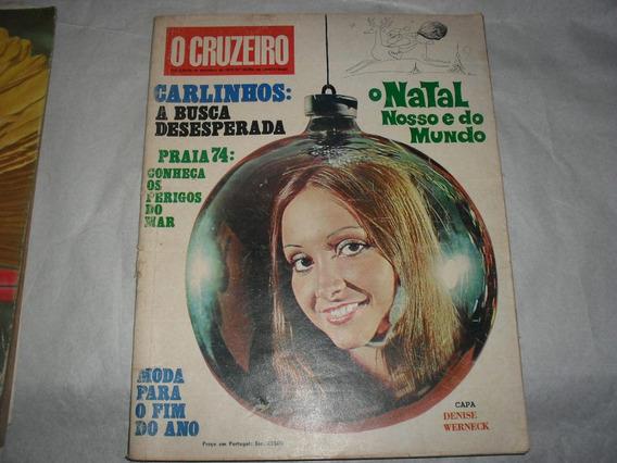 O Cruzeiro Dez 1973 Natal Mundo Sumiço De Carlinhos Flameng