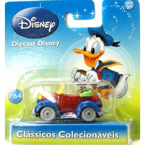 Disney - Carro Do Pato Donald - 1:64 Motorama