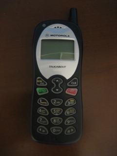 Celular Motorola Talkabout Cdma Defeito - Peças Para Projeto
