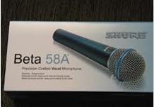 Microfone Shure Beta 58a Pronta Entrega