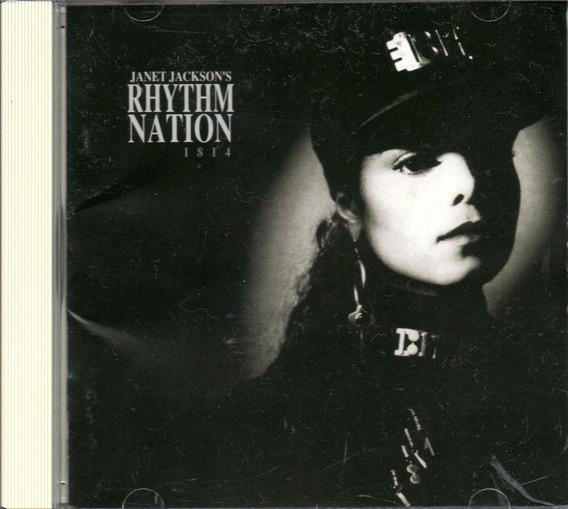 Janet Jackson-rhythm Nation-1814-1989-cd Imp.japão