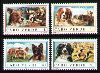 Cabo Verde 1995 - Cachorros - 4 Selos