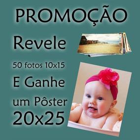 Pacote Com 50 Fotos 10x15 + Um Pôster 20x25 Grátis