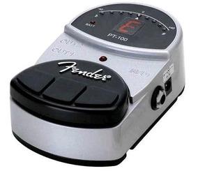 Pedal Afinador Fender Pt100 Com Display Digital