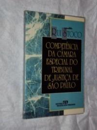 Competência Da Câmara Especial Do Tribunal De Justiça De São