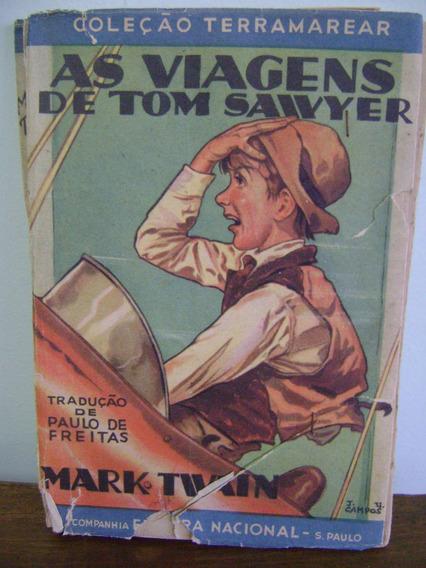 Livro As Viagens De Tom Sawyer - Mark Twain - 1934