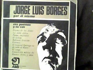 Borges Por Él Mismo-disco Lp-
