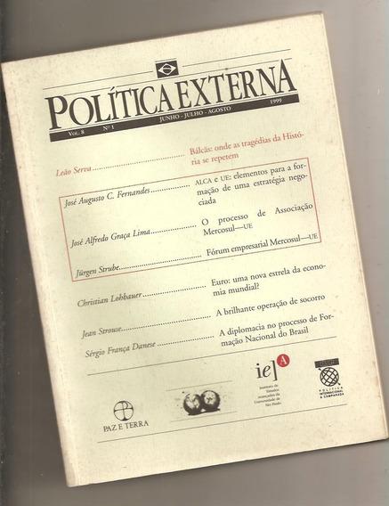 Política Externa - Vol. 8 - N°1 - Editora Paz E Terra