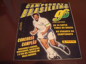 Álbum Campeonato Brasileiro 1996 - Completo Original Panini