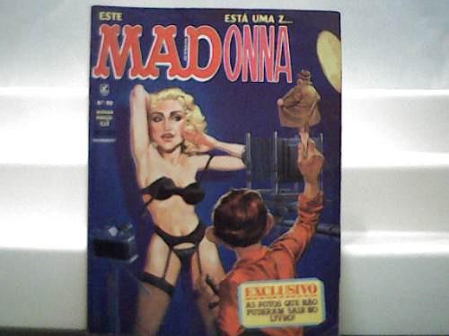 Revista Mad Madonna Nº 90 / Editora Record / Janeiro 1993