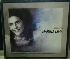 Cd Marina Lima Retratos Com Luvas Mpb Rock Pop Dance