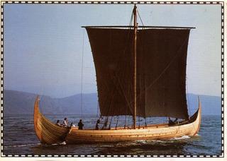 Barco Viking - Cartão Postal Da Noruega - Oslo