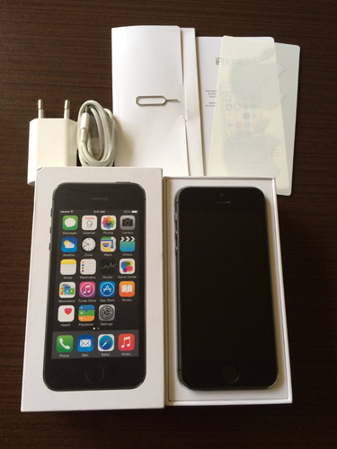 ffebb6f0c5a iPhone 5s Space Gray 16 Gb Liberado Caja Y Accesorios Apple - $ 200.000 en  Mercado Libre