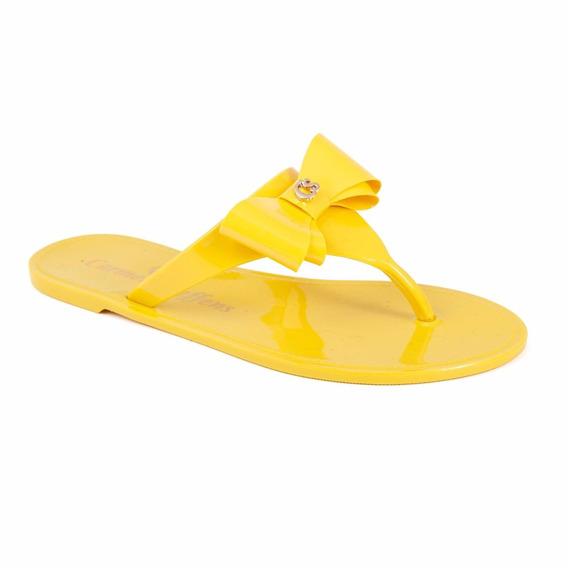 Rasteirinha Lacinho Amarela Cs