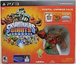 Box Lacrado Skylanders Giants Pra Playstation 3 Jogo + Giant