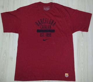 Camiseta Nike Barcelona Catalan # 4 Marquez - Tamanho G